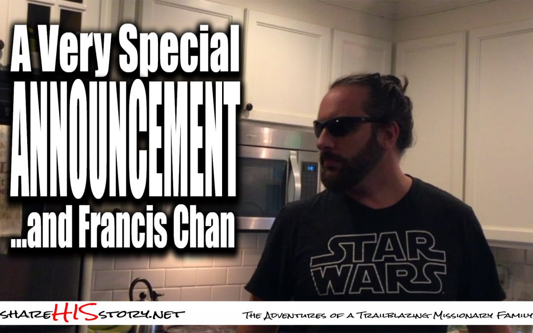 special announcement Francis chan