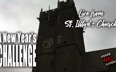 Update from Wales and St. Illtyd's Church…and a New Year's Challenge