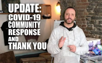 UPDATE: Coronavirus Community Response and THANK YOU